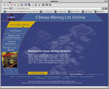 climax mining site